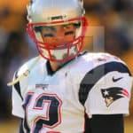 New England Patriots quarterback Tom Brady (12)